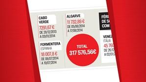 As férias de Sócrates pagas por Santos Silva