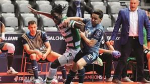 Sporting na final da Champions de futsal