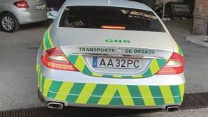 'Bomba' de luxo da GNR para transporte de órgãos tem dois meses e já vai para a oficina