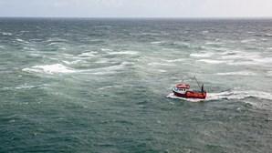Pescador apanha susto ao encontrar serpente-tigre no barco em alto mar