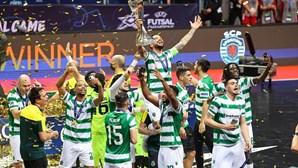Sporting vence Liga dos Campeões de futsal frente ao Barcelona