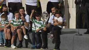 Sporting celebra nos Paços do Concelho conquista da Liga dos Campeões de futsal