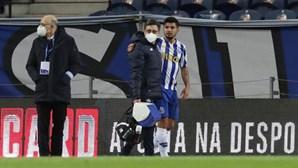 Corona não viajou com o FC Porto para Lisboa