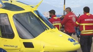 Alpinista ferido após queda de ravina em Manteigas. Homem sofreu vários traumatismos