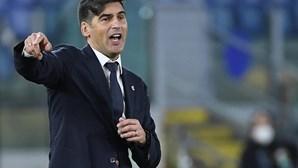 """Treinar a Roma foi """"experiência difícil, mas boa"""", assume Paulo Fonseca"""