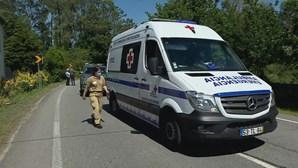 Colisão violenta em Viana do Castelo provoca um morto e um ferido