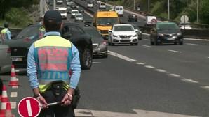 Confinamento faz infrações de trânsito caírem 41,3% em Portugal