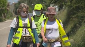 Peregrinos antecipam jornada a caminho de Fátima