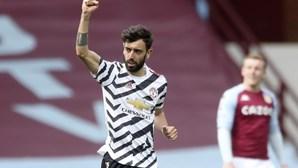Bruno Fernandes elogia apoio dos adeptos do Sporting à equipa