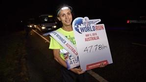 Portuguesa Vera Nunes foi a segunda na corrida global Wings for Life