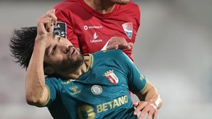 Dérbi minhoto entre Gil Vicente e Sp. Braga termina empatado a um golo