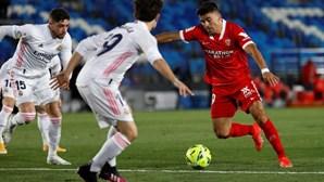 Real Madrid empata com Sevilha e desperdiça oportunidade de subir à liderança