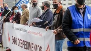 248 despedimentos coletivos comunicados até agosto