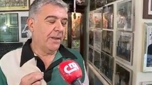 """""""Isto é amor"""": Carlos Seixas é ferrenho pelo Sporting"""