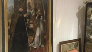 Quadro de Contreiras e outras obras de arte roubadas recuperadas pela PJ em Lisboa