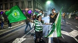 De Norte a Sul do País: Assim foi a festa dos adeptos do Sporting após conquista do título