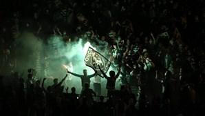 Autocarro do Sporting ruma ao Marquês após alteração no percurso