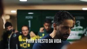 Os discursos de Varandas e Amorim ao plantel, num vídeo que arrepia a nação sportinguista