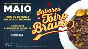 Mês dos Sabores do Toiro Bravo aos fins-de-semana