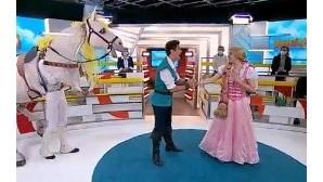 Peça de teatro 'Rapunzel' em cena no Politeama