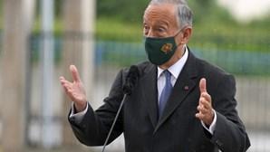 Marcelo recusa comentar confiança política do primeiro-ministro no MAI