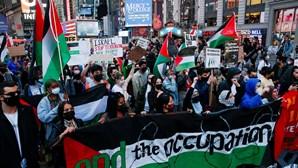 Milhares saem às ruas por todo o mundo em protestos contra a violência israelita