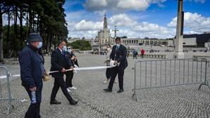 Santuário de Fátima volta a atingir o limite de peregrinos no recinto