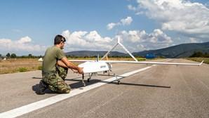 Drones das Forças Armadas para fogos podem ser usados para vigiar migração ilegal