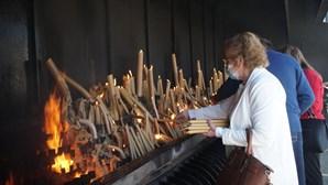 Negócio das velas no Santuário de Fátima sofre com a pandemia