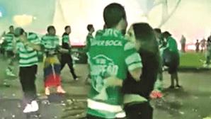 Namoradas dos atletas celebram conquista do título dos leões