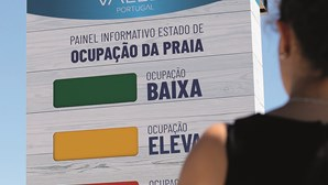 Semáforos de volta às praias portuguesas