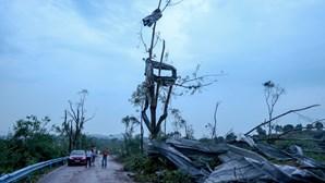 Dois tornados matam pelo menos 10 pessoas na China