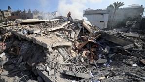 Morreram 140 pessoas na Faixa de Gaza desde o início dos confrontos