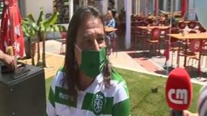 Adepto do Sporting rapa cabelo ao fim de 19 anos após conquista do campeonato do clube