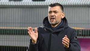 Conheça as escolhas de Sérgio Conceição para o jogo do FC Porto com o Rio Ave