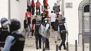 PSP com tolerância zero junto ao estádio antes do dérbi entre Benfica e Sporting