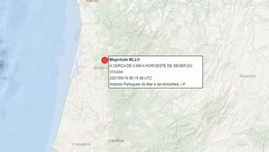 Sismo de 2.0 na escala de Richter sentido na região de Aveiro