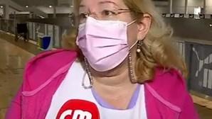 Centro de vacinação de Braga espera vacinar hoje 1100 pessoas