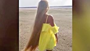 Rapunzel real não corta cabelo há 30 anos