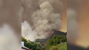 Incêndio florestal na Califórnia obriga à retirar de mais de mil pessoas das habitações