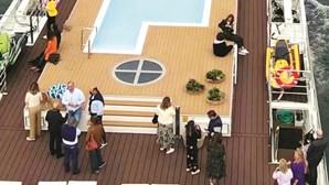 Ministro da Economia e Cristina Ferreira em cruzeiro de luxo no Douro a convite de Mário Ferreira. Veja o vídeo