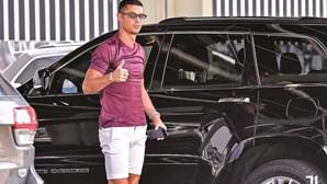 Cristiano Ronaldo faz 'marquise' em casa de Lisboa de sete milhões de euros