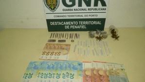 Homem detido por tráfico de droga em Penafiel