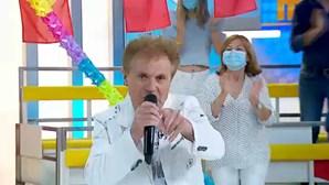 Nel Monteiro cantou 'Azar na Praia', a música preferida de todos os arraiais