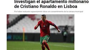 'Marquise' de Cristiano Ronaldo em destaque na imprensa internacional