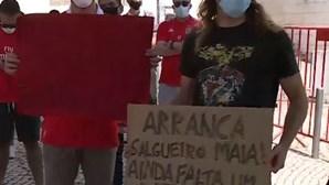 Adeptos do Benfica contestam direção de Luís Filipe Vieira