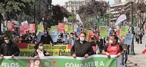 Porto assinalou 1º de Maio nos Aliados
