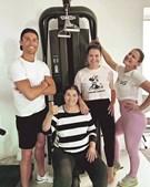 Dolores Aveiro, Cristiano Ronaldo, Katia e Elma