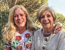 Teresa Guilherme com a mãe, Lídia