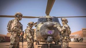 Força conta com apoio de helicópteros e de um C130 suecos